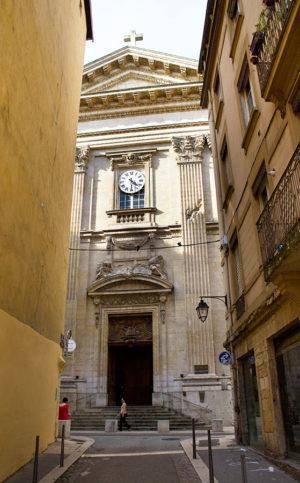 Église Saint Polycarpe de Lyon où a été exposé le Memento mori de Guillevic alias gyan meer