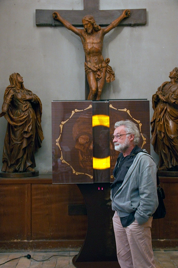 Michel Durand prêtre à Lyon église Saint Polycarpe