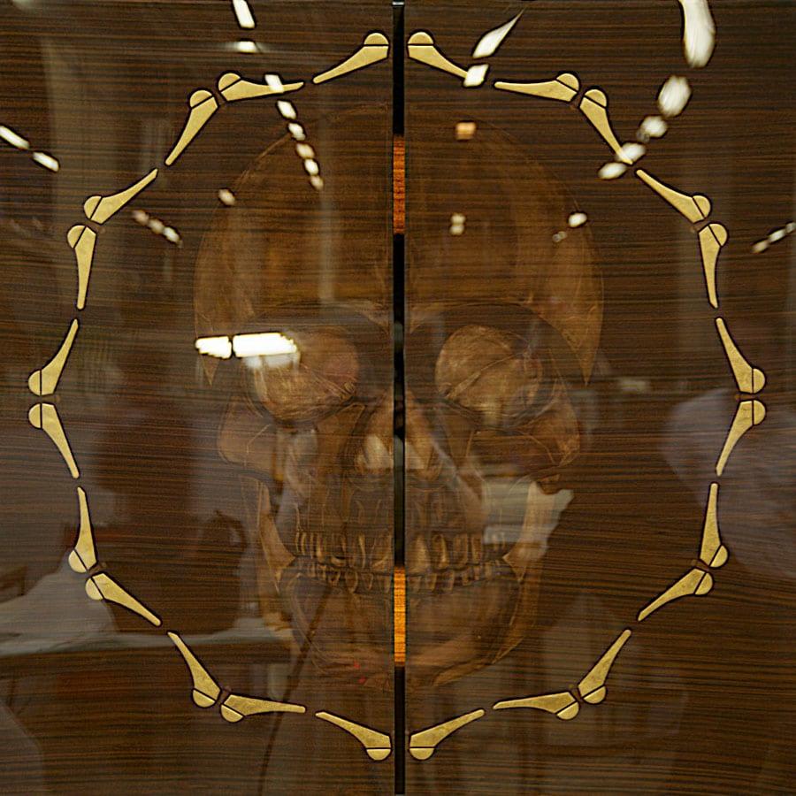 Peinture du Memento mori de Guillevic alais GYAN Meer