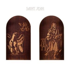 brun guillevic saint jean et aigle église de larmor-plage