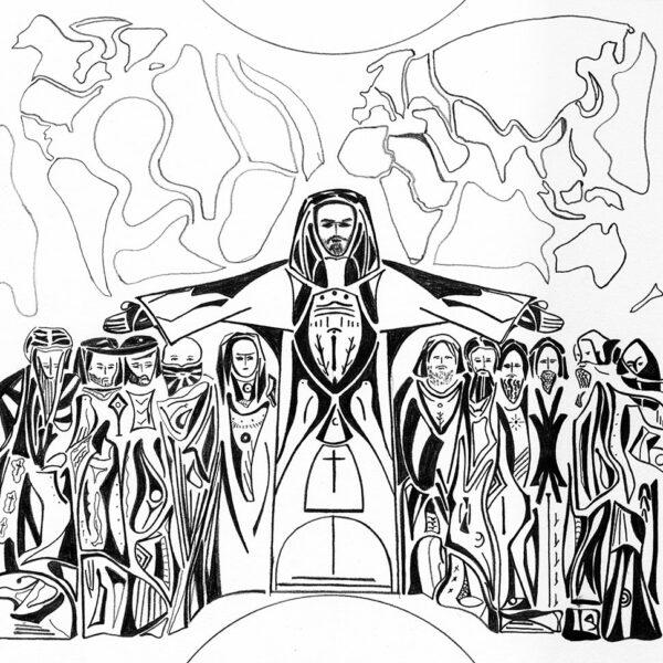 Le Christ donne son dernier enseignement avant la grande Passion