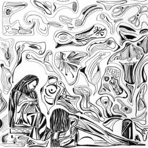 Marie de Béthanie essuie les pieds de Jésus avec ses cheveux